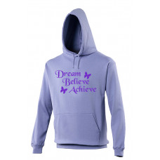 College Hoodie - Dream, Believe, Achieve