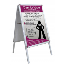 Pavement Sign + 2 x A1 Printed Posters