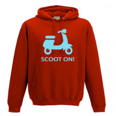 SCOOT ON  - Printed Hoodie
