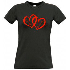 Two Hearts Beat As One - Printed T-Shirt