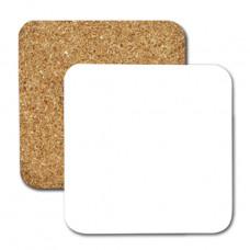 Square Cork Coasters (4Pcs)