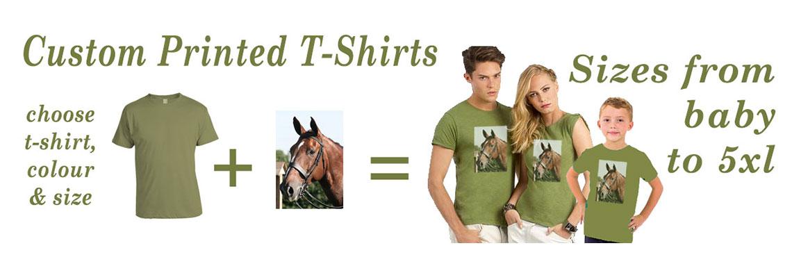 Custom Printe T-Shirts