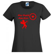 Hey cupid aim here - printed