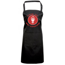 Printed Apron - TIME TO GET COOKING