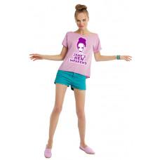 Face Art Hen Weekend T-Shirt