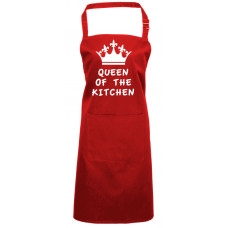 Printed Apron - QUEEN OF THE KITCHEN
