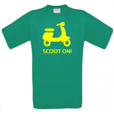 Scoot On - Printed T-Shirt