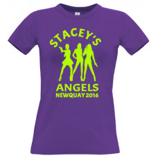 Stacey's Angels - Hen party t-shirt