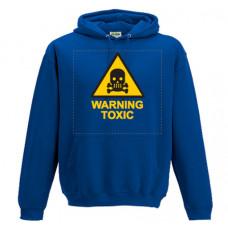 Warning Toxic - Printed Hoodie