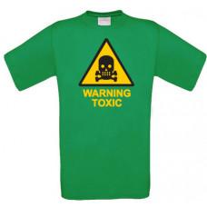 Warning Toxic - Printed T-Shirt